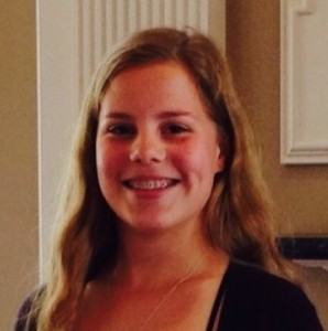 Elizabeth de Jager, a Bruton High School sophomore and the 2015 Hugh O'Brian Youth (HOBY) scholarship winner