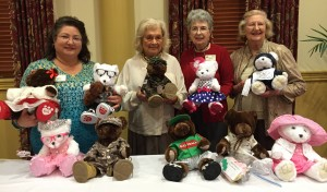 Bears for the Salvation Army's Teddy Bear Tea