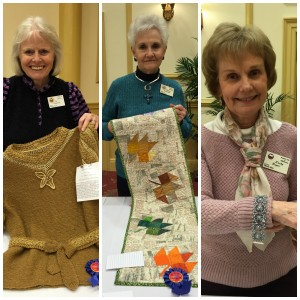 Craft show winners, Jan. 2016