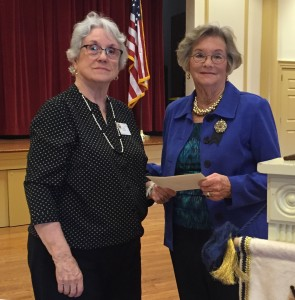 Mar 2016 speaker Hope Royer gave a great talk about the accomplishments of GFWC women over the years.