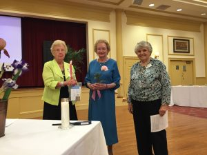 April 2016, Jenny Brown was inducted