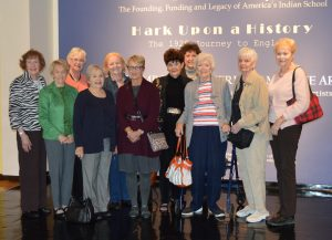 The Arts Committee visited the Muscarelle Museum, Oct 2016