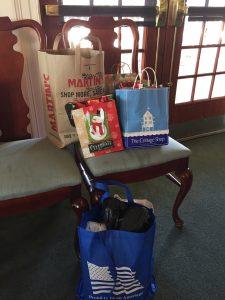 Christmas presents for Blayton House residents